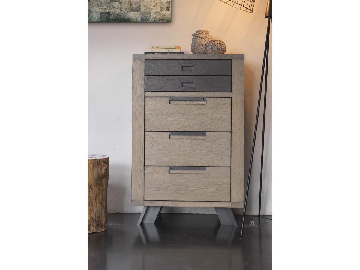 chiffonnier 5 tiroirs st junien. Black Bedroom Furniture Sets. Home Design Ideas