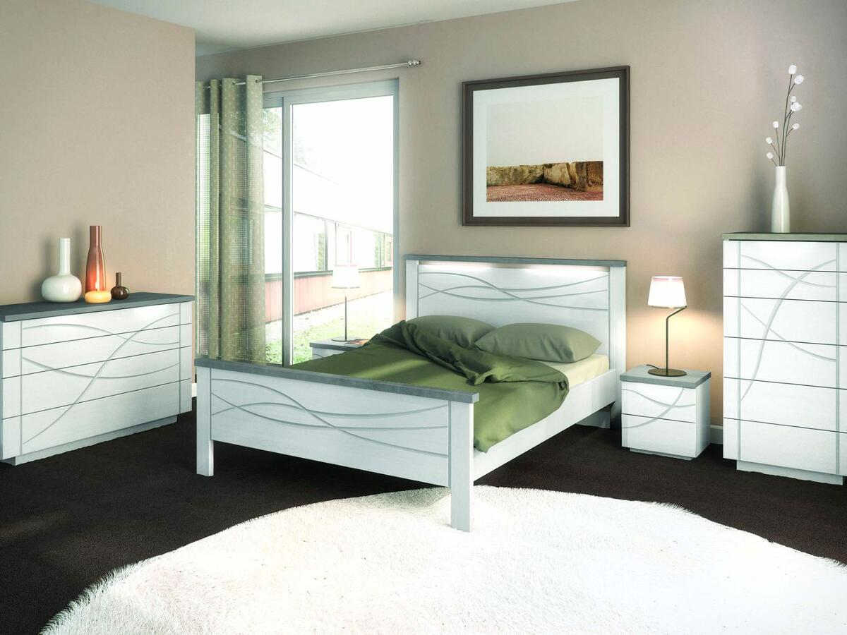 lit crosse arrondie pied haut st junien. Black Bedroom Furniture Sets. Home Design Ideas