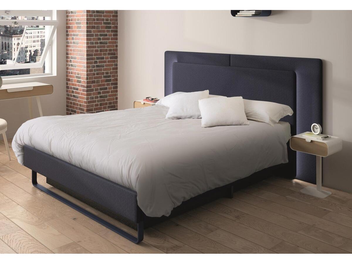 lit t te et encadrement textile st junien. Black Bedroom Furniture Sets. Home Design Ideas